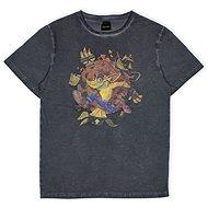 Crash Bandicoot - tričko XXL - Tričko