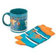 Crash Bandicoot - hrnek a ponožky - Dárková sada