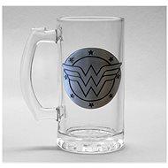 Wonder Woman - Logo - skleněný korbel - Sklenička