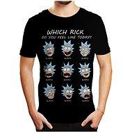 Rick and Morty - Emotions - tričko - Tričko