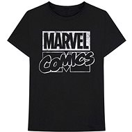 Marvel Comics - Logo - T-Shirt, Black - T-Shirt