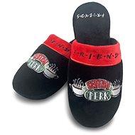 Friends - Central Perk - papuče vel. 38-41 černé - Pantofle
