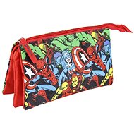 Marvel Avengers - Triple Stationery Pencil Case - School Case