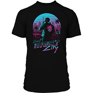 Tričko Cyberpunk 2077 - Night City - tričko L