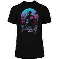 Cyberpunk 2077 - Night City - tričko - Tričko