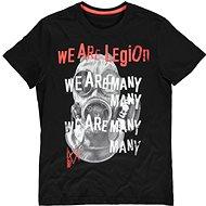 Tričko Watch Dogs Legion - We Are Many - tričko L