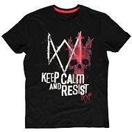 Watch Dogs Legion - Keep Calm And Resist - tričko - Tričko