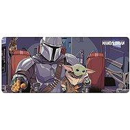Star Wars -  The Mandalorian - Herní podložka na stůl - Podložka pod myš