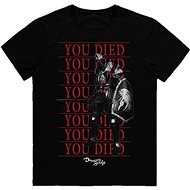 Demons Souls - You Died Knight - tričko L - Tričko