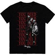 Demons Souls - You Died Knight - tričko XL - Tričko