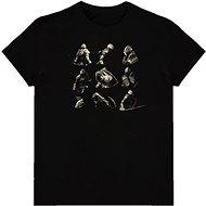 Demons Souls - Knight Poses - tričko XL - Tričko