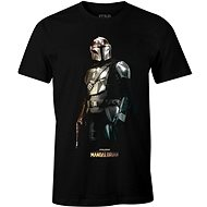 Star Wars Mandalorian - Iron Mando - tričko XXL - Tričko