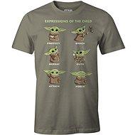 Star Wars Mandalorian - Child Expressions - tričko S
