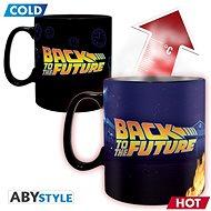 Back To The Future - Time Machine - hrnek proměňovací - Hrnek