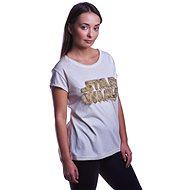 Star Wars - Futty Logo - dámské tričko M - Tričko