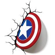 Captain America - Shield - lampa dekorativní na zeď - Lampa