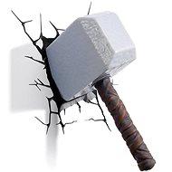 Thor - Hammer Mjölnir - lampa dekorativní na zeď - Lampa
