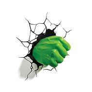 Hulk - Fist - lampa dekorativní na zeď - Lampa