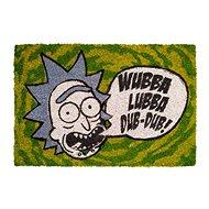 Rick and Morty - Wubba Lubba - rohožka - Rohožka