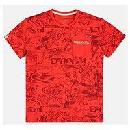 Tričko Deadpool - All Over - tričko