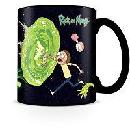 Rick and Morty - Portals - hrnek proměňovací