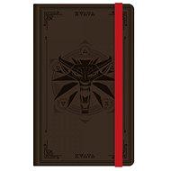 Zápisník The Witcher 3 - Wolf Logo - zápisník