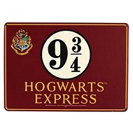 Harry Potter - Platform 9 3/4 - Metal Sign for Wall, Size: A5 - Sheet