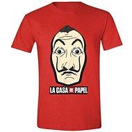 La Casa De Papel - Paper House: Mask and Logo - T-shirt - T-Shirt