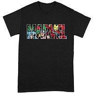 Marvel Comics - Logo Character Infill - T-shirt - T-Shirt
