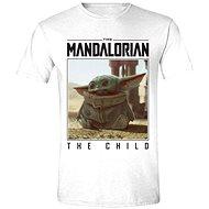 Star Wars Mandalorian - The Child Photo - tričkonad - Tričko