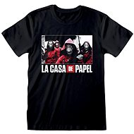 La Casa De Papel - Photo And Logo - tričko - Tričko