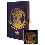 Avengers - Infinity War - zápisník svítící