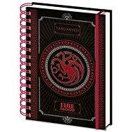 Game of Thrones - Targaryen - Spiral Notebook - Notebook