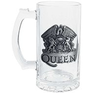 Queen - Crest - glass jug - Glass for Cold Drinks
