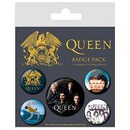 Queen - Classic - odznaky 5ks - Dárková sada