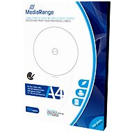 Mediarange CD/DVD/Blu-ray High-Glossy etikety 15 mm - 118 mm