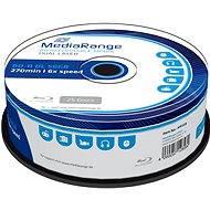 MediaRange BD-R (HTL) 50GB Dual Layer, 25ks cakebox - Média