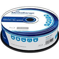 Mediarange BD-R BLU-RAY 25 GB 6x spindl 25 ks