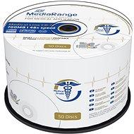 Mediarange CD-R Medical 700 MB 48x spindl 50 ks Inkjet Printable