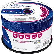 MediaRange CD-R Inkjet Printable 50ks cakebox - Média