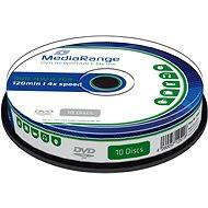 MediaRange DVD-RW 10ks cakebox - Média