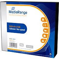 MediaRange DVD+R 5ks v SLIM krabičce - Média