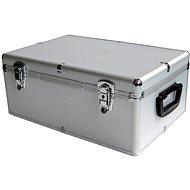 MediaRange DJ Case 500 stříbrný - Kufr