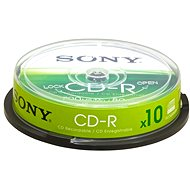 Sony CD-R 10ks cakebox - Média