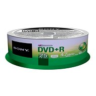 Sony DVD+R 25ks cakebox - Média