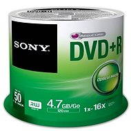 Sony DVD+R 50ks cakebox - Média