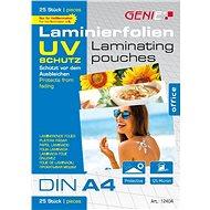 GENIE A4/250 lesklé s UV ochranou - balení 25 ks - Laminovací fólie