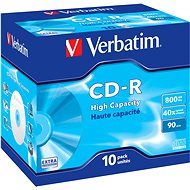 VERBATIM CD-R 800MB, 40x, jewel case 10 ks