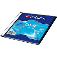 VERBATIM CD-R 80 52x EXTRA slim 200pc/BAL - Média