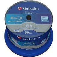 VERBATIM BD-R SL DataLife 25GB, 6x, spindle 50 ks - Média